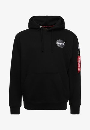 SPACE SHUTTLE HOODY - Hoodie - black