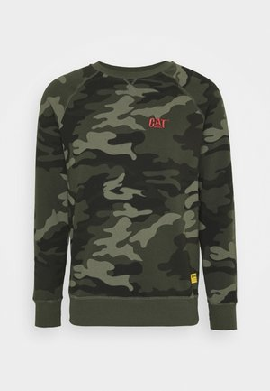 SMALL LOGO  - Sweatshirt - olive