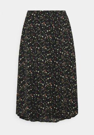 SMUDGE SKIRT - A-line skirt - black smudge print new