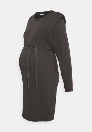 MLBELLANI DRESS - Sukienka z dżerseju - beluga