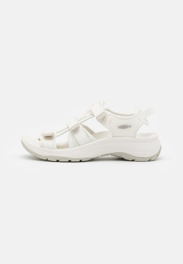 ASTORIA WEST OPEN TOE - Vandringssandaler - white