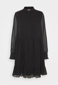 Tommy Jeans - TIERED LINE DRESS - Shirt dress - black - 4