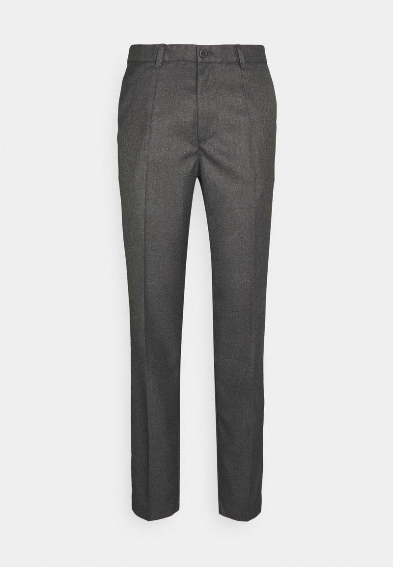 forét - POND SUIT PANTS - Trousers - stone