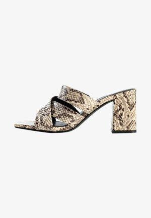 Sandaler - beige melange