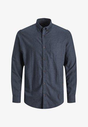 JJECLASSIC HEATHER STS - Formal shirt - navy blazer