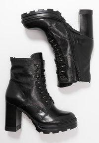 MJUS - Kotníková obuv na vysokém podpatku - nero - 3