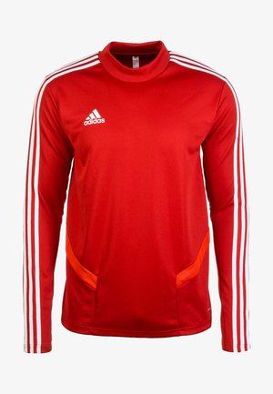 TIRO 19 CLIMACOOL SWEATSHIRT - Sweater - red