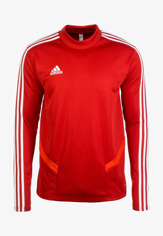 TIRO 19 TRAINING TOP - Felpa - red