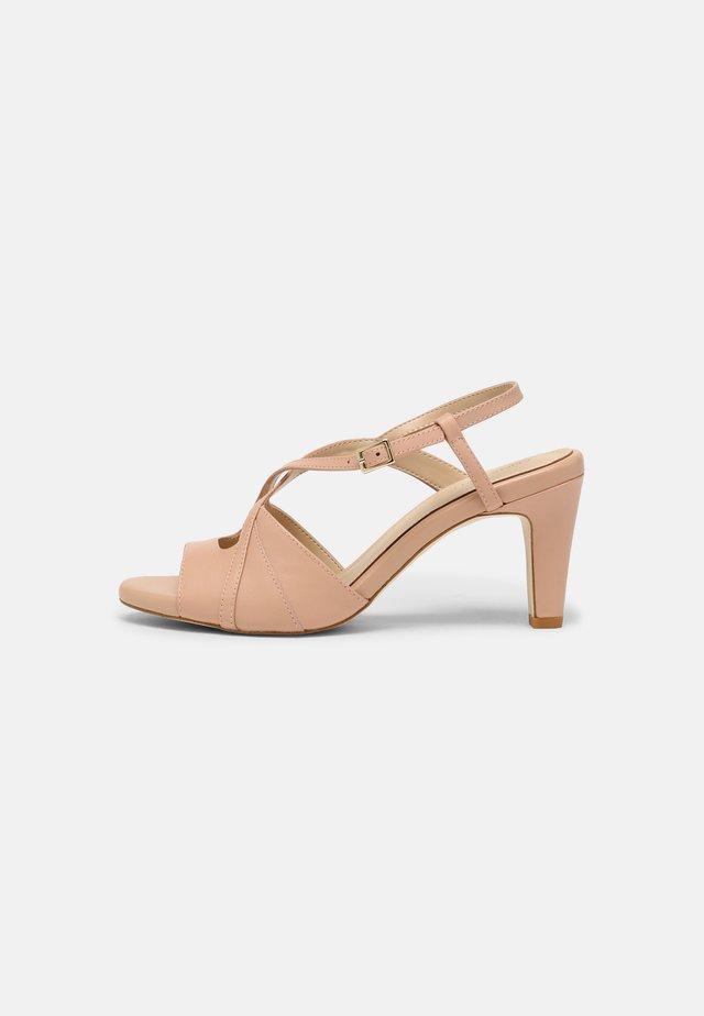 LEATHER - Sandales - beige