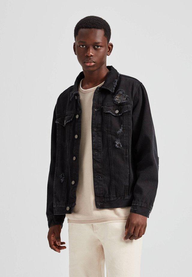 Kurtka jeansowa - dark grey