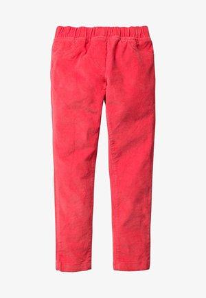 Trousers - erdbeerkuchenrot