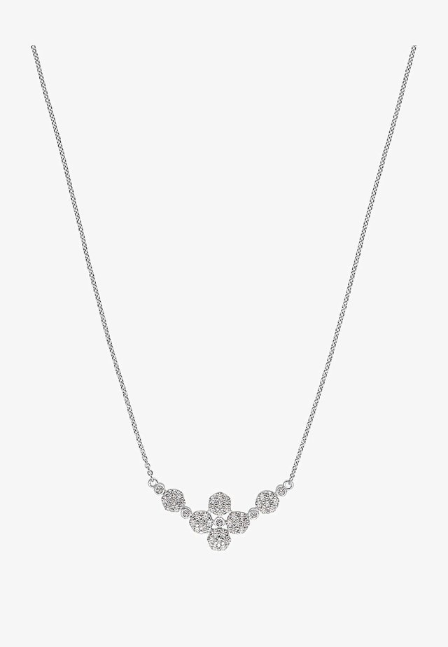 SNOWBALL - Necklace - silver-coloured