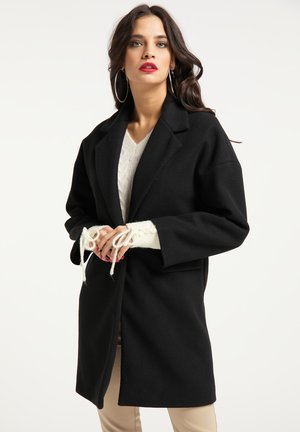 Klasyczny płaszcz - schwarz