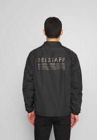 Belstaff - TEAMSTER JACKET PRINT - Summer jacket - black - 2