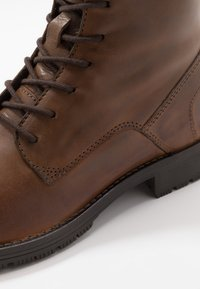 Jack & Jones - JFWORCA  - Lace-up ankle boots - cognac