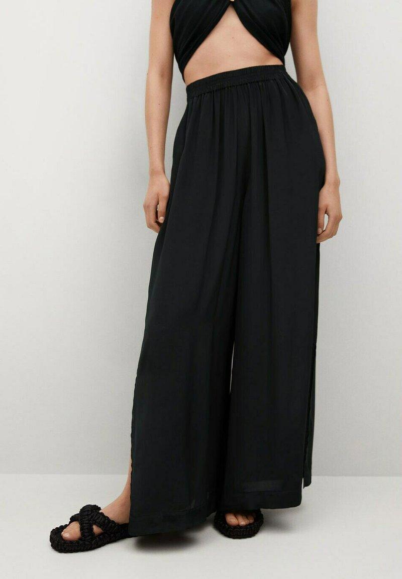Mango - Trousers - svart