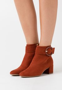 Tamaris - BOOTS - Classic ankle boots - cinnamon - 0