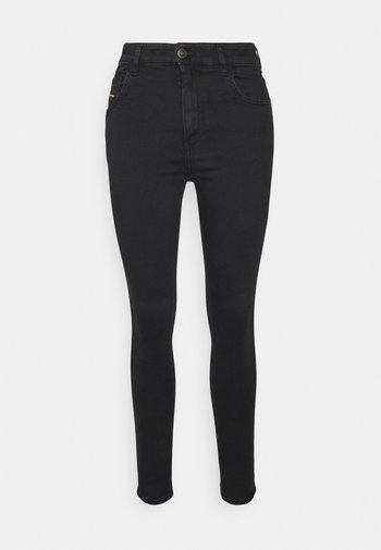 SLANDY HIGH - Jeans Skinny Fit - washed black