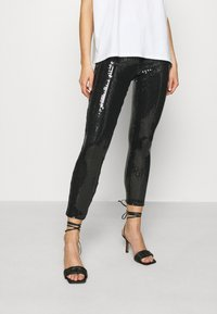ONLY - ONLRONA SEQUENCE - Trousers - black - 0