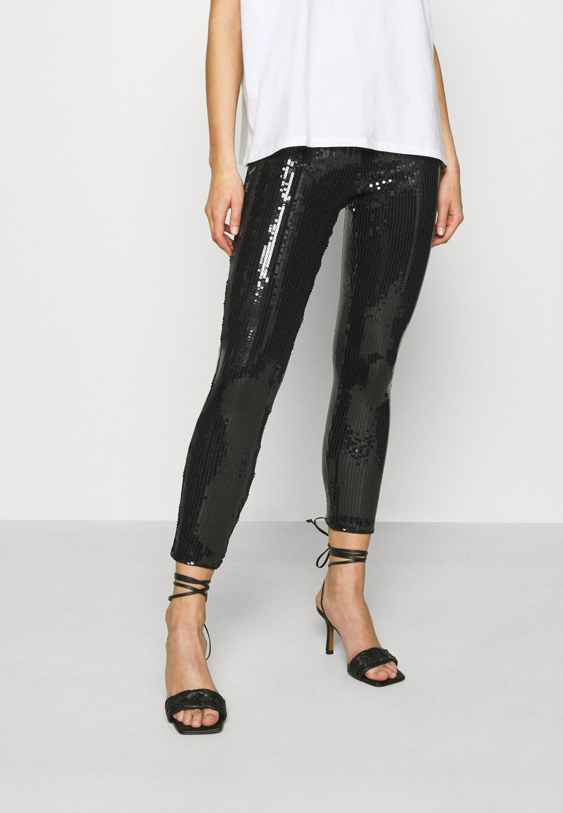 ONLY - ONLRONA SEQUENCE - Trousers - black
