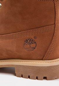 Timberland - 6 IN PREMIUM - Winter boots - cognac - 5