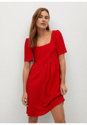 CHERRY-H - Korte jurk - red