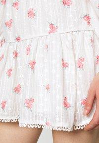 Glamorous - PIPING SKIRT - Minihame - rose broderie - 4