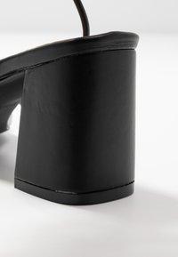 RAID Wide Fit - WIDE FIT JENNIFER - Sandals - black - 2