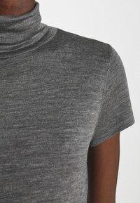 Polo Ralph Lauren - SHORT SLEEVE DAY DRESS - Maxi dress - boulder grey heather - 5