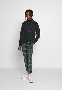 Topman - CHECK - Kalhoty - green - 1