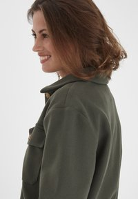 Fransa - FXTAHIR - Summer jacket - dark olive - 3