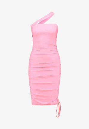 CIERA DRESS - Etuikjole - pop pink