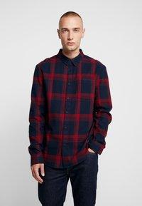 YOURTURN - Skjorte - dark blue/red - 0