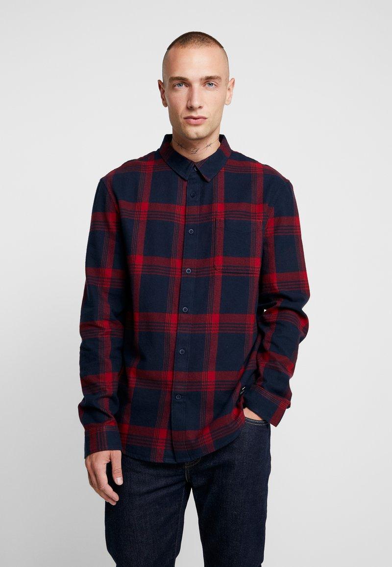 YOURTURN - Skjorte - dark blue/red