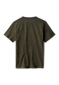 Timberland - KENNEBEC RIVER LINEAR TEE - Print T-shirt - grape leaf - 4
