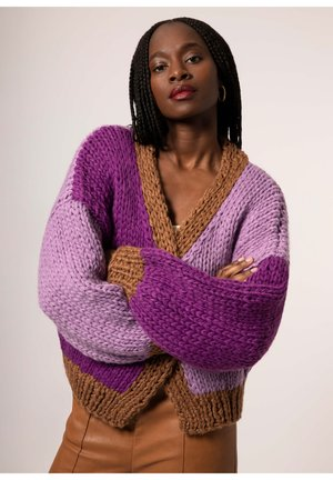 LORENE - Cardigan - purple