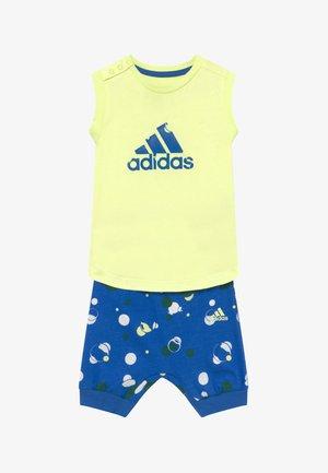 SET  - Pantaloncini sportivi - yellow/blue