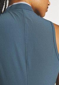 adidas Golf - 3 STRIPE DRESS - Sportovní šaty - legacy blue - 5