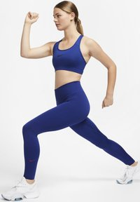 Nike Performance - ONE LUXE - Tights - deep royal blue/noble red - 1