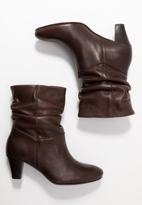 mint&berry - Classic ankle boots - dark brown - 3