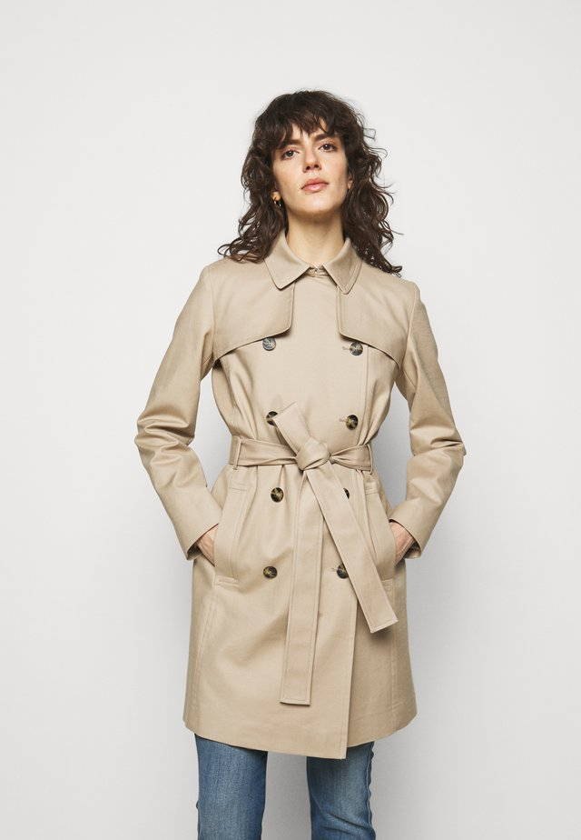 MAKARAS - Trench - medium beige