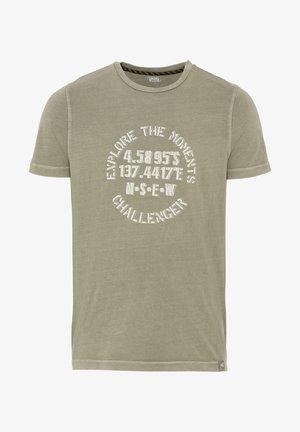 Print T-shirt - schilf