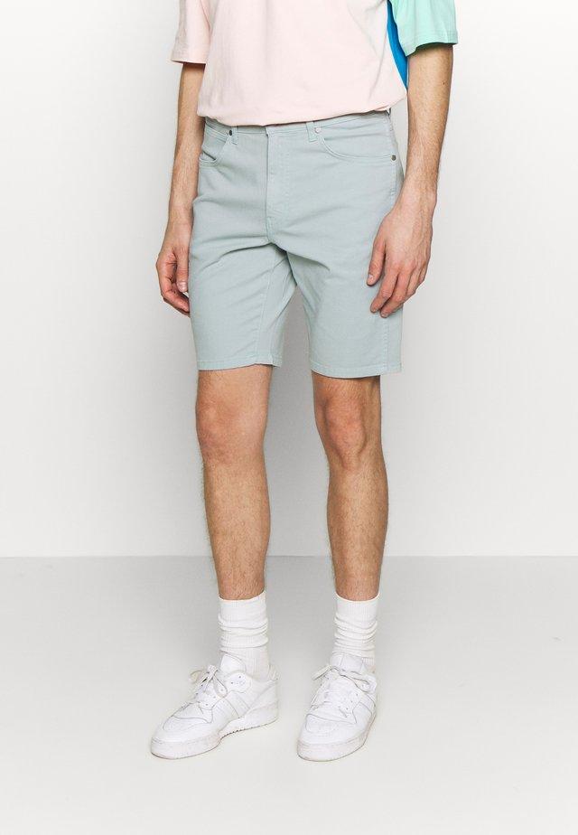 TEXAS FIT - Jeans Shorts - mist blue