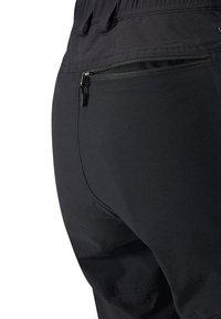 Haglöfs - MID FLEX PANT - Friluftsbyxor - true black solid short - 3