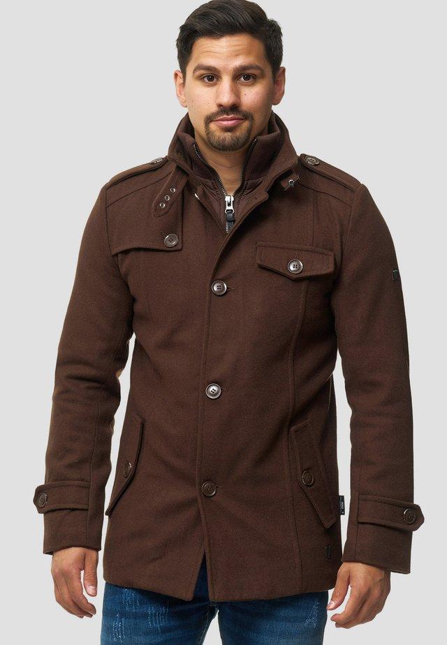 BRANDAN - Pitkä takki - brown