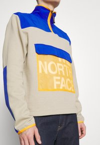 The North Face - GRAPHIC COLLECTION ZIP - Sweatshirt - twill beige/blue/flame orange - 5