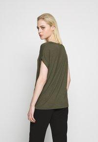 ONLY - ONLMOSTER ONECK - T-shirts - grape leaf - 2