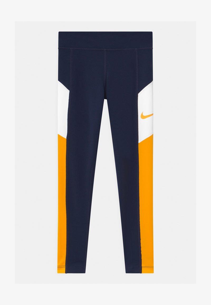Nike Performance - TROPHY - Leggings - obsidian/university gold/white