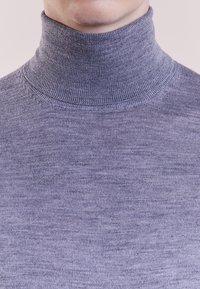 Bruuns Bazaar - CHARLES ROLL NECK - Pullover - mid grey melange - 3