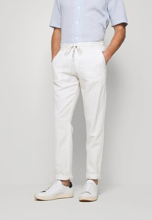 PANTS - Trousers - white